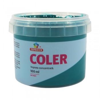 Концентрированная краска Coler №112 Морская волна 100мл 6000767