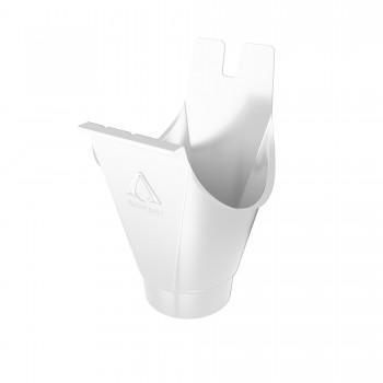 Воронка водосточная белый 125/87mm