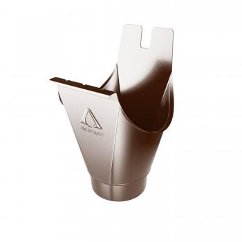 Воронка водосточная коричневый 125/87mm