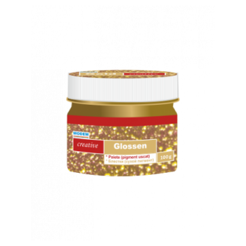 GLOSSEN Блестки- сухой пигмент (золото)