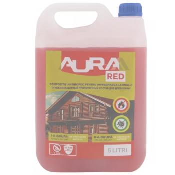 Огнебиозащитная пропитка Aur-M Red 5кг