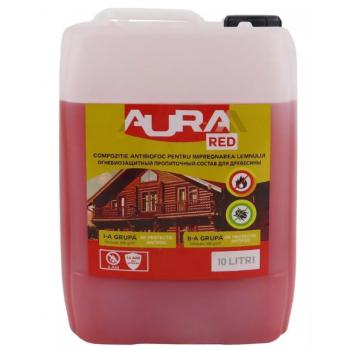Огнебиозащитная пропитка Aur-M Red 10кг