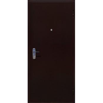 Дверь АМД Медный Антик металл/металл (Лево) 86