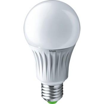 Светодиодная лампа  LED 10W A60 6.5K-E27 Navigator