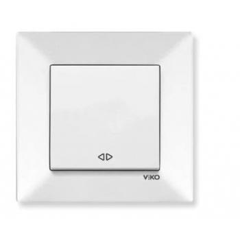 Meridian Выключатель перекрестный 1-кл. белый