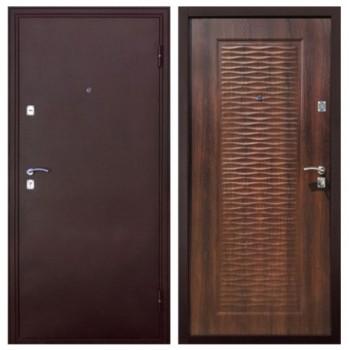 Дверь Волна - Морёный дуб  (Лево) 86