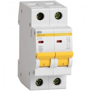 Автоматический выключатель IEK 16C 2P