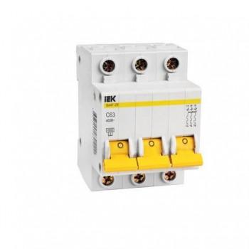 Автоматический выключатель IEK 100C 3P