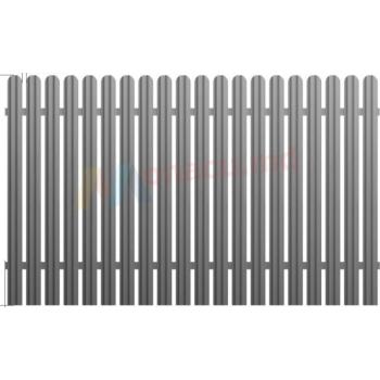 Металлический забор 2x0,75м
