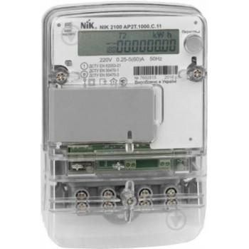 Счетчик однофазный NIK 2100 электронный шунтовой