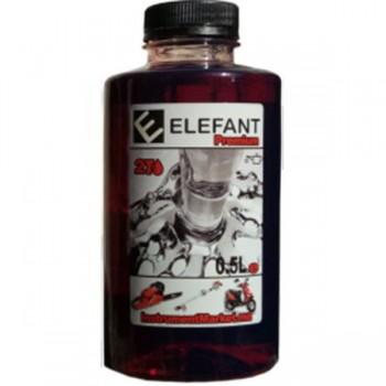 Масло 2T Elefant Красный  0,5л