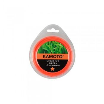 Леска Kamoto SP300-15-3, пятигранник, 3.0мм x 15м