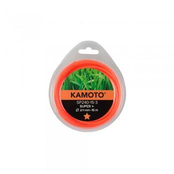 Леска Kamoto SP165-15-3, пятигранник, 1,65мм x 15м