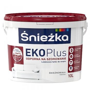 Акриловая эмульсия ИНТЕРЬЕРНАЯ Sniezka Eko-Plus 10L