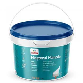 Шпатлевка Mesterul Manole 1.5кг 370001